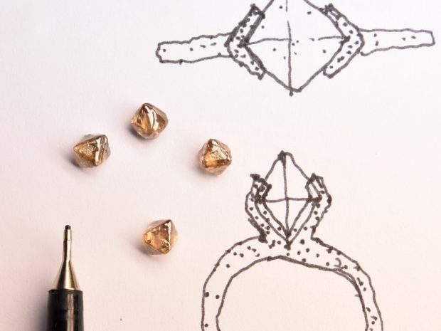 Rough Diamond concept sketch by Welfe.