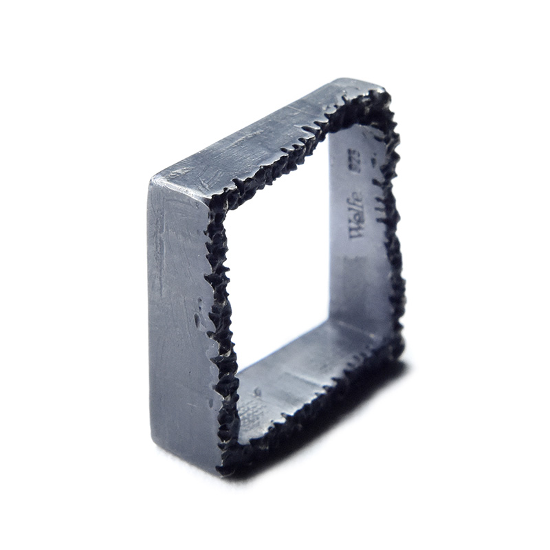 eroded cube ring