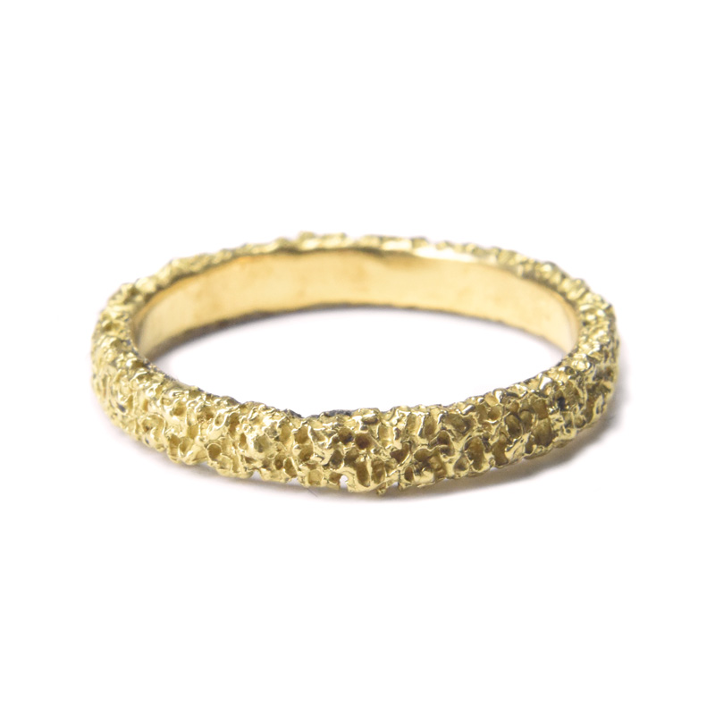 welfe jewellery 3mm gold ring