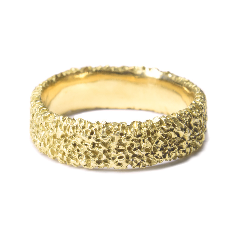 welfe jewellery 6mm gold ring
